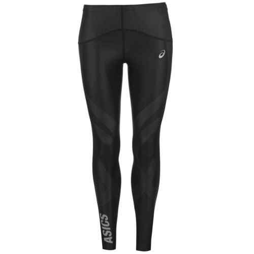 Asics Womens Finish Advantage Tights Performance Pants Trousers Bottoms Seamless