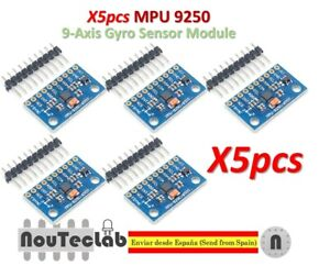 Details about 5pcs Gyro Sensor Mpu 9250 Magnetometer Accelerator 9-Axis  Attitude SPI GY-9250