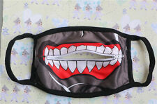 Hot Anime Tokyo Ghoul Kaneki Ken Cosplay Dust Zip Mouth Mask Fashion Respirator