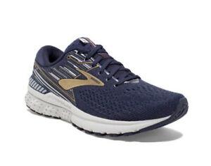 Brooks Adrenaline GTS 19 Men's Running Navy, Gold, Grey -1102941D439 - Size: 9.5