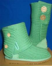 UGG Australia Spearmint Kids Classic Cardy Boots Size US 12  New  #5649