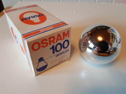 Osram dekolux ampoule e27 100 W courbe Argent courbes à point Haut Miroir Kopfspiegel
