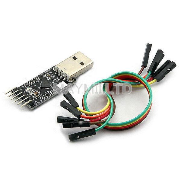 Convenient Module Serial Converter USB 2.0 to TTL UART 6PIN CP2102 STC PRGMR