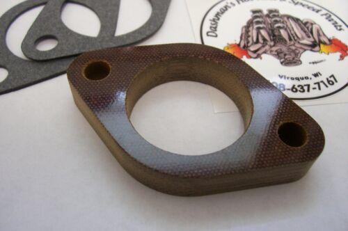 For Stove 2 Bolt Phenolic Riser BXOV-2 Stromberg Carburetor Insulator Spacer 1//2