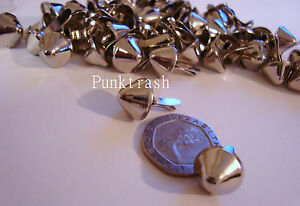 Large-Conical-Cone-Studs-NEW-punk-rock-goth-emo-gothic-stud-biker-grunge-retro