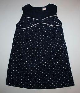 New-Gymboree-Polka-Dot-Smock-Top-Dress-size-5T-year-NWT-Prep-Perfect-Girls