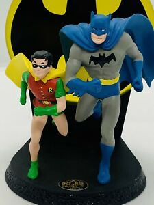 1996 Hallmark DC Comics Batman & Robin Golden Age The Dynamic Duo By Duane Unruh