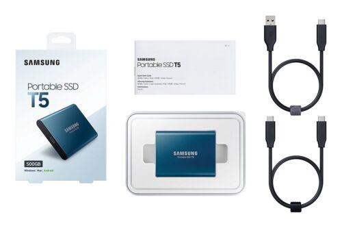 250GB//500GB//1TB Samsung SSD TYPE C T5 Portable Solid State Drive External USB3.1