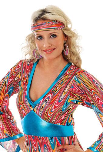 Mod Girl Headband 60s 70s Swirl Headband Swirl Costume Hair Accessory BA1843