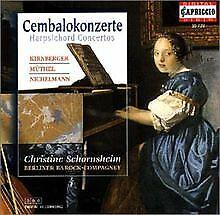 Cembalokonzerte von Schornsheim,Christine | CD | Zustand gut