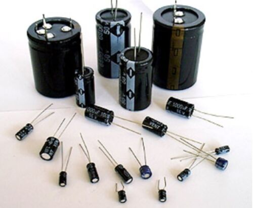 CEV 350.1 Vertical Electrolytic Capacitors 350v 1µf Conf .10pz