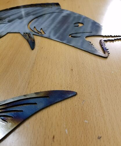 King Mackerel metal wall art plasma cut sign gift spanish gift idea fish