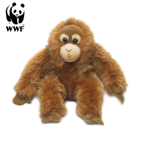 WWF Plüschtier Orang-Utan (23cm) lebensecht Plüschtier Kuscheltier Affe Monkey