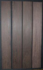 fretboard blank Grade A Quartersawn Wenge guitar fingerboard