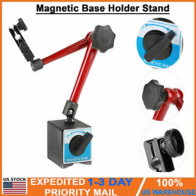 Rust-proof Universal Magnetic Base Holder Stand for Digital Dial Test Indicator Adjustable Magnetic Base Stand
