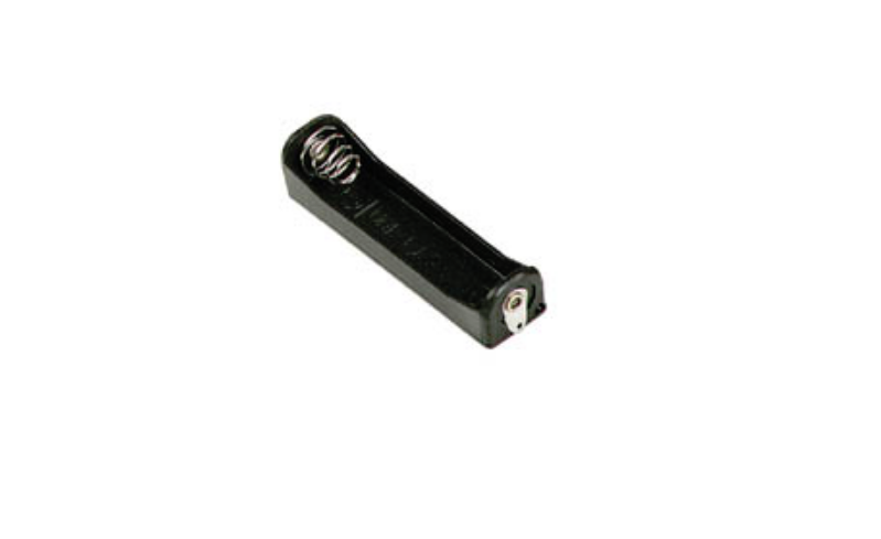 BATTERY HOLDER FOR 1 x AAA-CELL (WITH SOLDER TAGS)