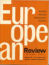 european review. summer 1967 : britains entry : what germany thinks supplement