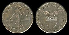 1 Peso 1908-S US Philippine Silver Coin  - Stock # 13