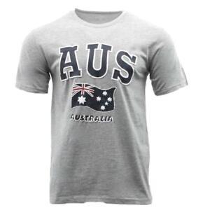 Adult-T-Shirt-Australian-Australia-Day-Souvenir-Gift-100-Cotton-AUS-Flag