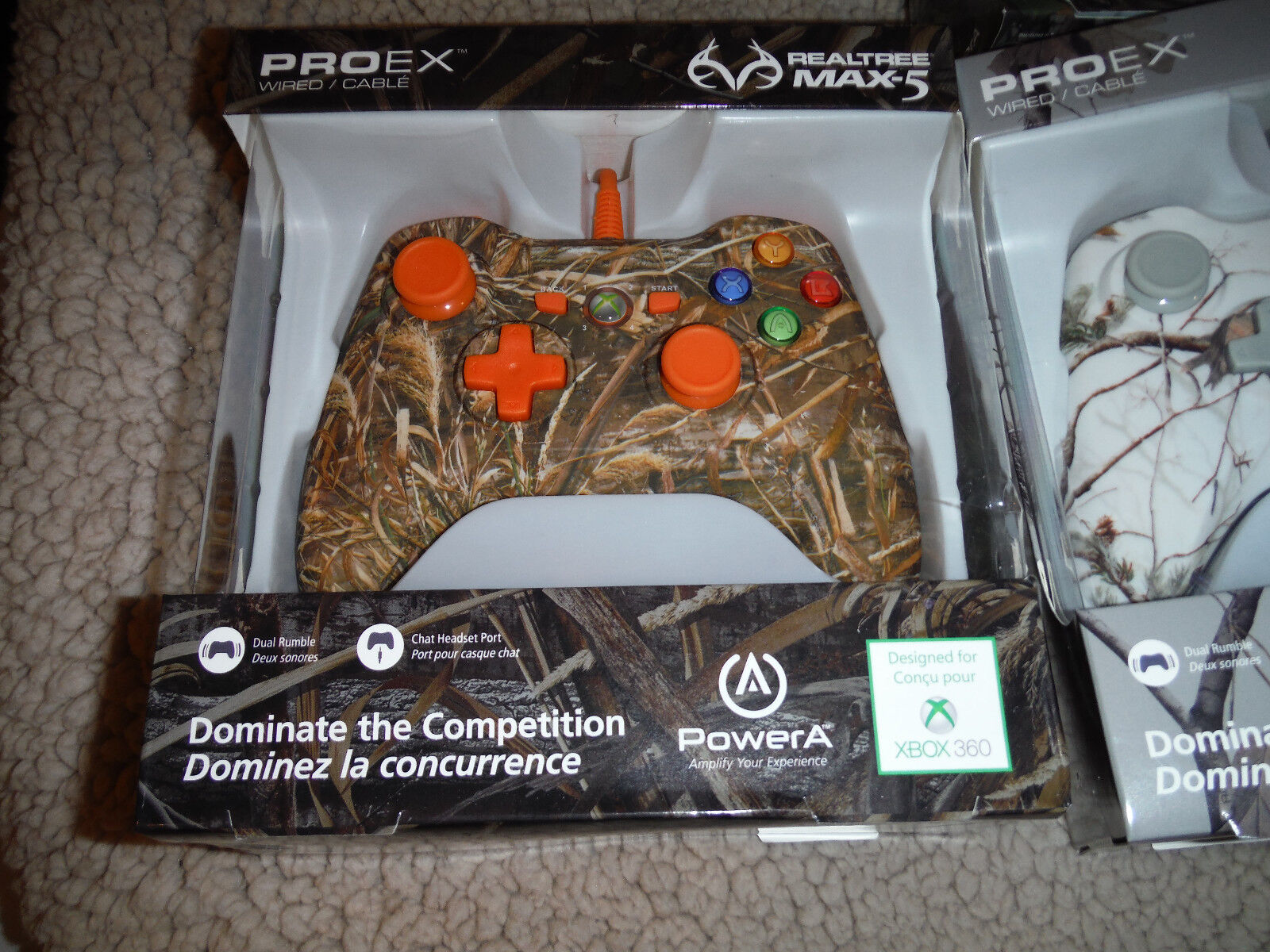 Xbox 360 PowerA Realtree Max-5 Pro EX Wired Controller | eBay
