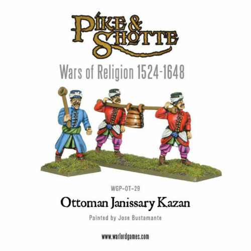 WLGWGP-OT-29 Pike and Shotte Ottoman Janissary Kazan