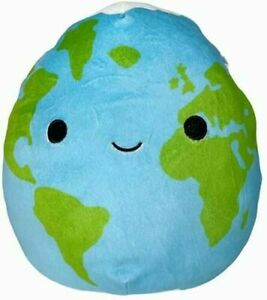 """KellyToy Squishmallow 5"""" Roman Planet Earth Space Squad Summer 2021 NWT"""