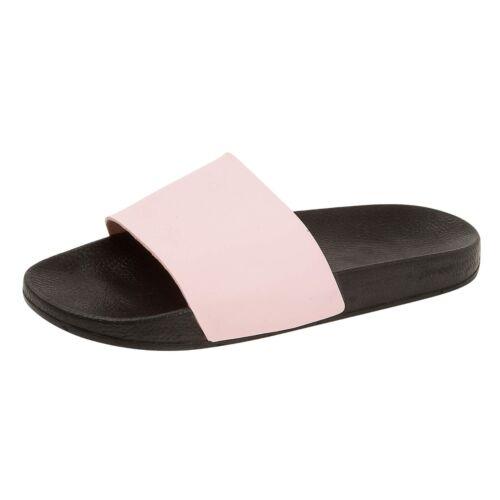 Mens Boys Slippers Slide Flip Flops Sandals Shower Pool Beach Summer Shoes Sport