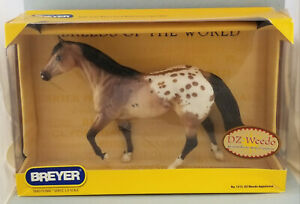 Breyer-DZ-Weedo-Appaloosa-Stock-Horse-Stallion-Model-NIB