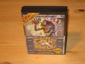 Motley-Crue-Ball-Heavy-Metal-Pinball-Sega-Genesis-Case-Box-Only-NO-GAME-CART