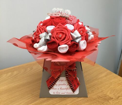 Baby Shower Gift New Baby gift Unisex Christmas Baby Bouquet of Baby Clothes