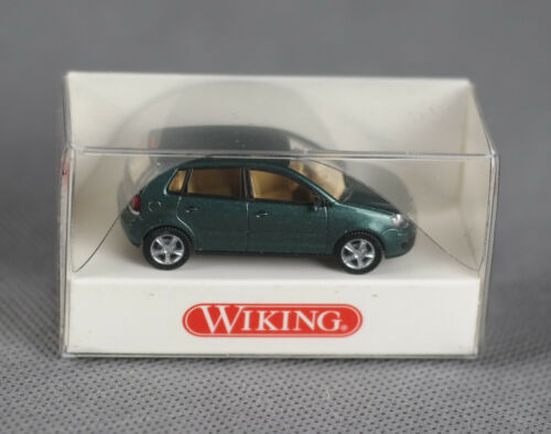 VW Polo fairwaygreen metallic-productos nuevos! Wiking 003438//0034 38 h0, 1:87