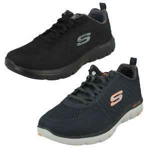 Dettagli su Uomo Skechers The Happs 52185 Casual con Lacci Air Cooled  Memory Foam Scarpe