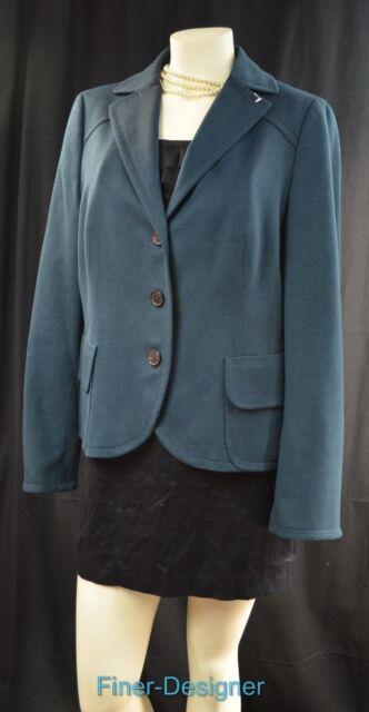 A-K-R-I-S- AKRIS punto blazer suit JACKET light coat angora wool US 14 NEW $1190