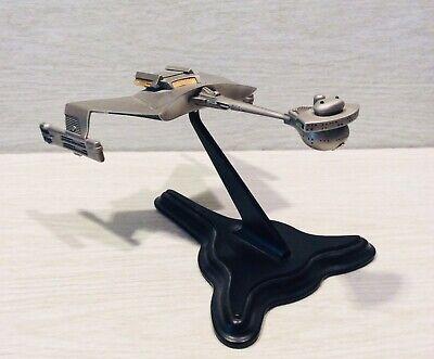 Star Trek Klingon Battle Cruiser Pewter Sculpture With