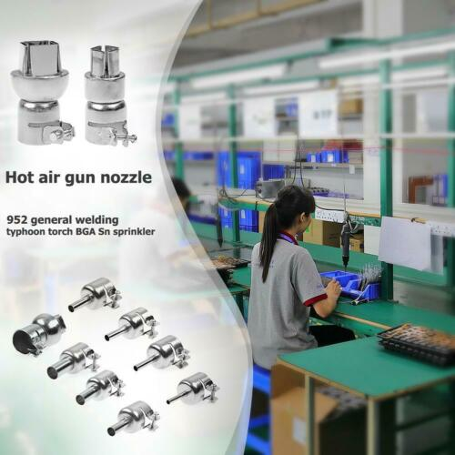 VS2# Heat Gun Nozzles Heat Air Guns Nozzle Tip for 850 Hot Air Soldering Station