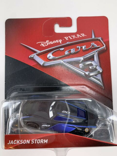 Disney Cars Die Cast Jackson Storm With Accessory Card Toy Vehicle Huge Saving For Sale Online Ebay