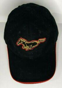Black-Mustang-Baseball-Cap-Hat-Dupuis-Ford