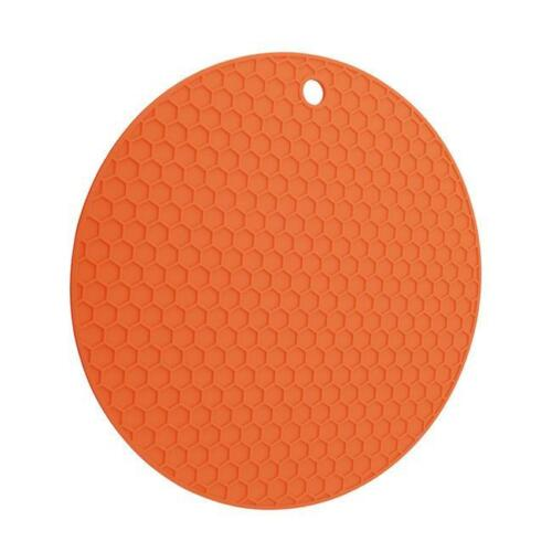 Heat Resistant Silicone Table Mat Placemat Non-slip Pan Pot Trivet Holder HS
