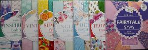 Bastelpapier-Designpapier-Motivblock-50-Blatt-Scrapbooking-Motivpapier-Basteln