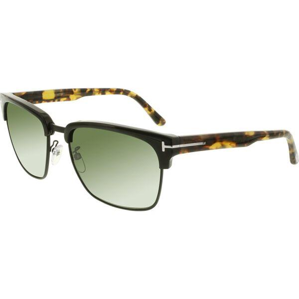 c2ab0b7797 Tom Ford Sunglasses Men TF 367 Black 02b River for sale online