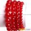 "Handmade 6//8//10//12//14mm Rouge Ruby Gemstone Round Beads Bracelet 7.5/"" AAA"
