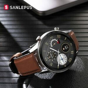 2020 SANLEPUS ECG Smart Watch Bluetooth Call Smartwatch For Men Waterproof