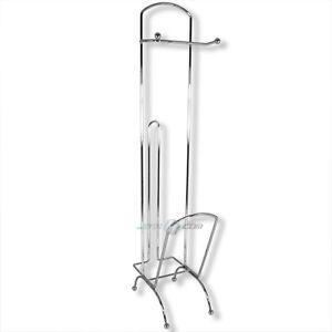 wc papierrollenhalter lekt renablage toilettengarnitur toilettenpapierhalter neu ebay. Black Bedroom Furniture Sets. Home Design Ideas