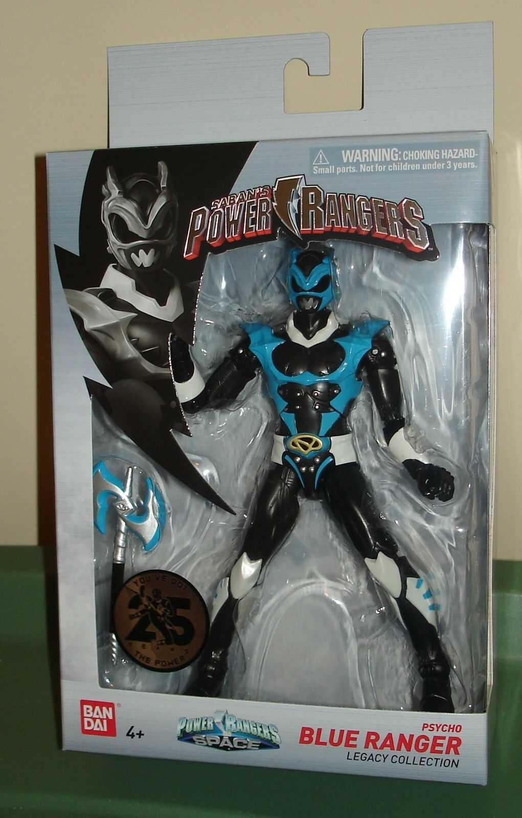 NIB Power Rangers IN SPACE LEGACY COLLECTION blueE PSYCHO RANGER