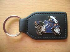 Schlüsselanhänger Honda VFR 800 / VFR800 blau blue Bj. 2002 Art 0856 Motorrad