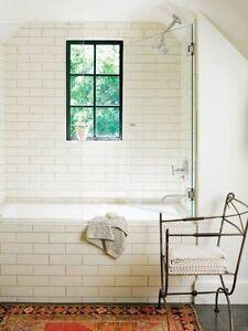Image Is Loading White Ceramic Subway Tile 4 034 X 10