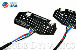 RGBW-DRL-LED-Boards-2013-2014-Ford-Mustang-RGBW-DRL-LED-Boards-Diode-Dynamics