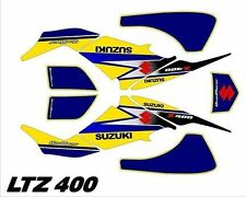 Kit Déco Quad / ATV Suzuki LTZ 400 (03-09) - Suzuki Jaune
