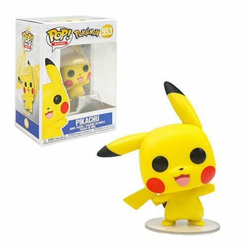 POKEMON Pikachu sventolando POP ** UK Venditore Figura in vinile #553 ** In Stock Ora!!