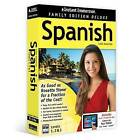 Instant Immersion Family Edition Deluxe Spanish Levels 1,2 & 3 by Eurotalk (CD-ROM, 2016)